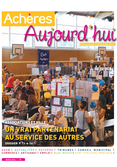 Achères Aujourd'hui n°70 – mars 2016