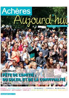 Achères Aujourd'hui n°74 – juillet/août 2016
