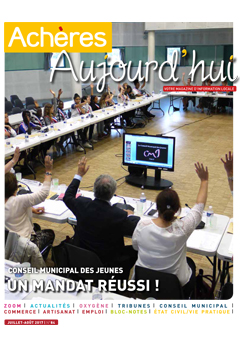 Achères Aujourd'hui n°84 – Juil/août 2017