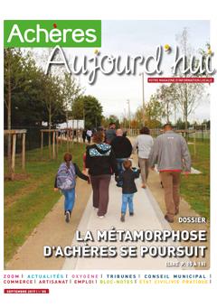 Achères Aujourd'hui n°85 – Sept 2017