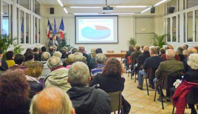 Budget 2018 : réunion publique