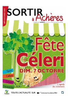 Sortir à Achères – Sept/Oct 2018