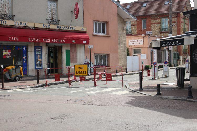Travaux rue de Saint Germain
