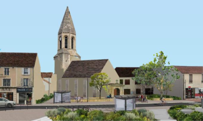 Place de l'église : détails sur le projet de rénovation