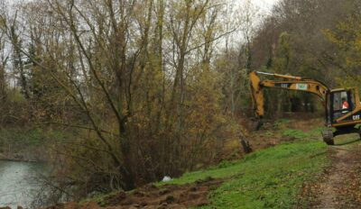 Nouveaux aménagements à l'étang des Bauches