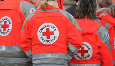 Campagne de sensibilisation de la Croix Rouge Française
